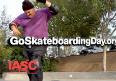 "FLUID FILMS' CREATES PUBLIC SERVICE ANNOUCENMENT FOR IASC ENTITLED ""SUPPORT SKATEBOARDING"" AIRING ON FUEL TV"